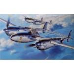 HASEGAWA 1/48 P-38J Lightning