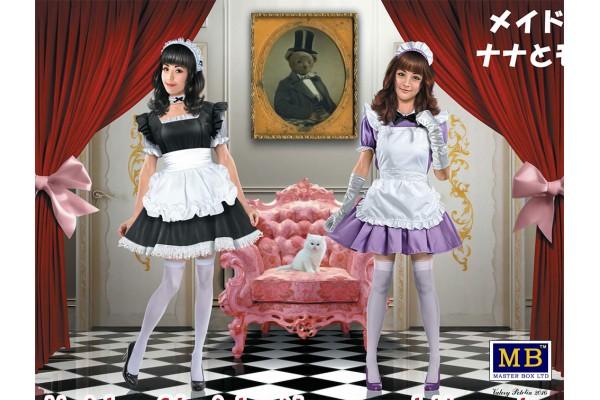 MASTERBOX 1/35 Maid café girls. Nana and Momoko