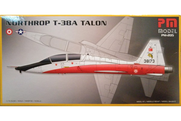 PM MODEL 1/72 NORTHROP T-38A TALON