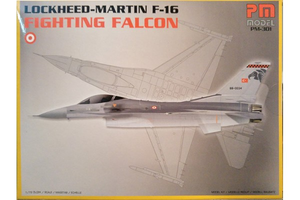 "PM MODEL 1/72 F-16 FIGHTING FALCON ""Lockheed-Martin"""