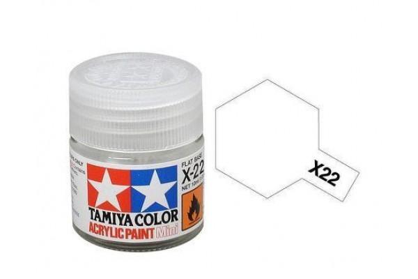 TAMIYA Acrylic Mini X-22 Clear (Parlak Vernik) 10 ml.