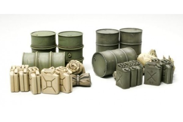 TAMIYA 1/48 Jerry Can Set