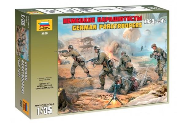 ZVEZDA 1/35 German Paratroops WWll
