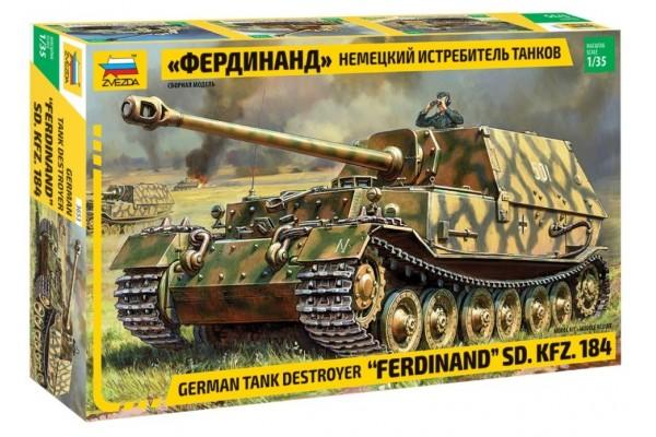 ZVEZDA 1/35 Ferdinand Sd.Kfz.184