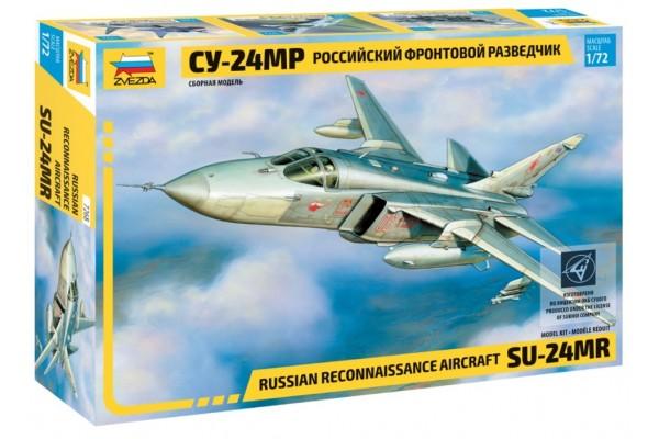 ZVEZDA 1/72 Sukhoi SU-24MR Rus. Rec. Aircraft